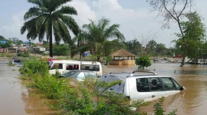 صورة لفيضان جمهورية الكونجو