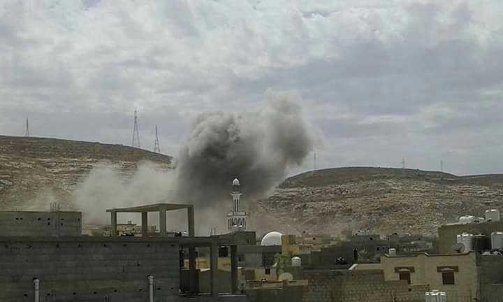 Photo of طلعات وغارة ضد إرهابيين جنوبي درنة.. وتحذير للسكان