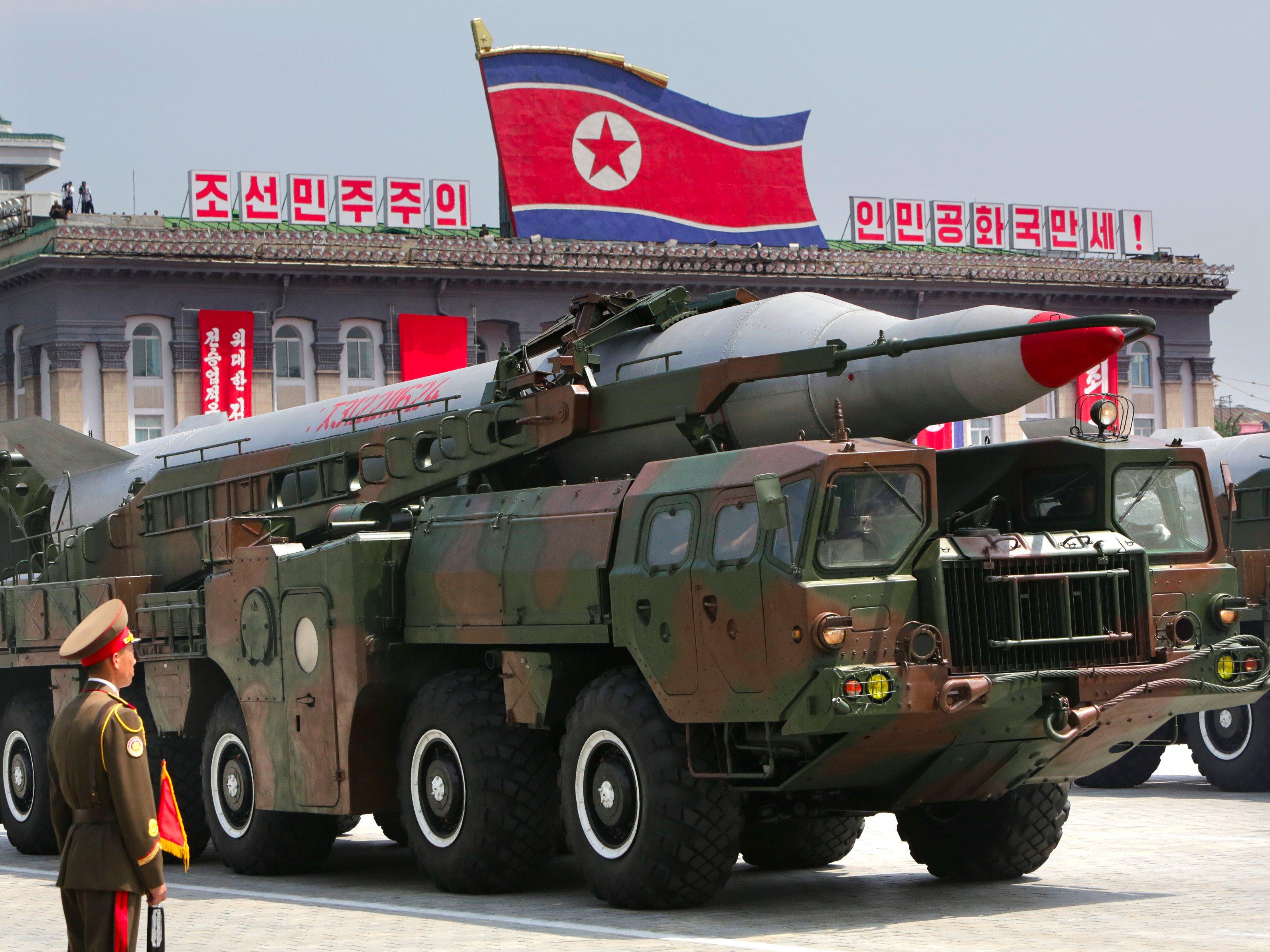 صورة لأسلحة كوريا الشمالية النووية