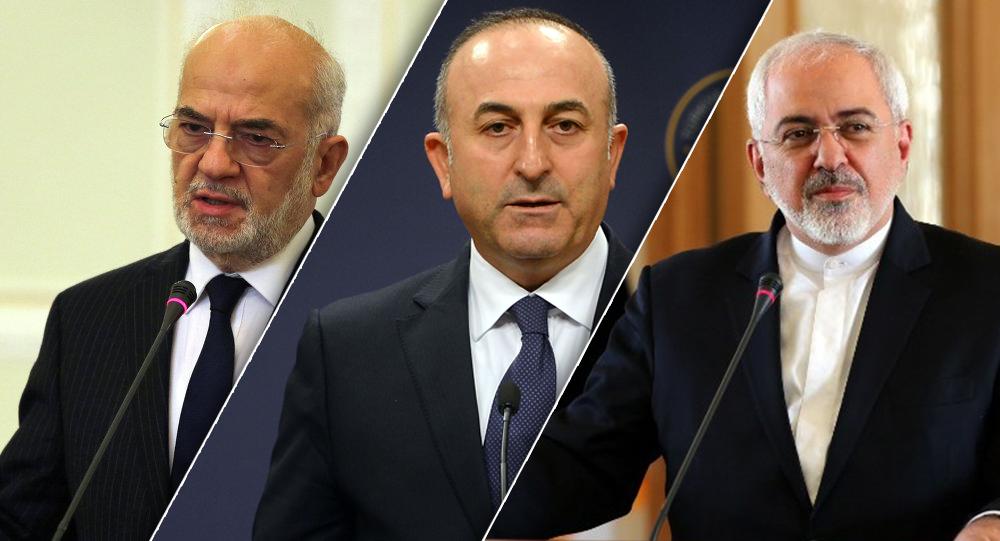 الدول الثلاث:العراق،تركيا و إيران