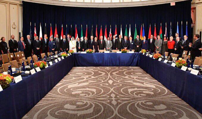 اجتماع التحالف الدولي ضد داعش