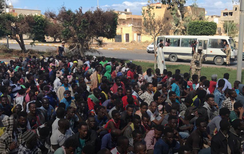 أكثر من 6 آلاف مهاجر سري في صبراتة