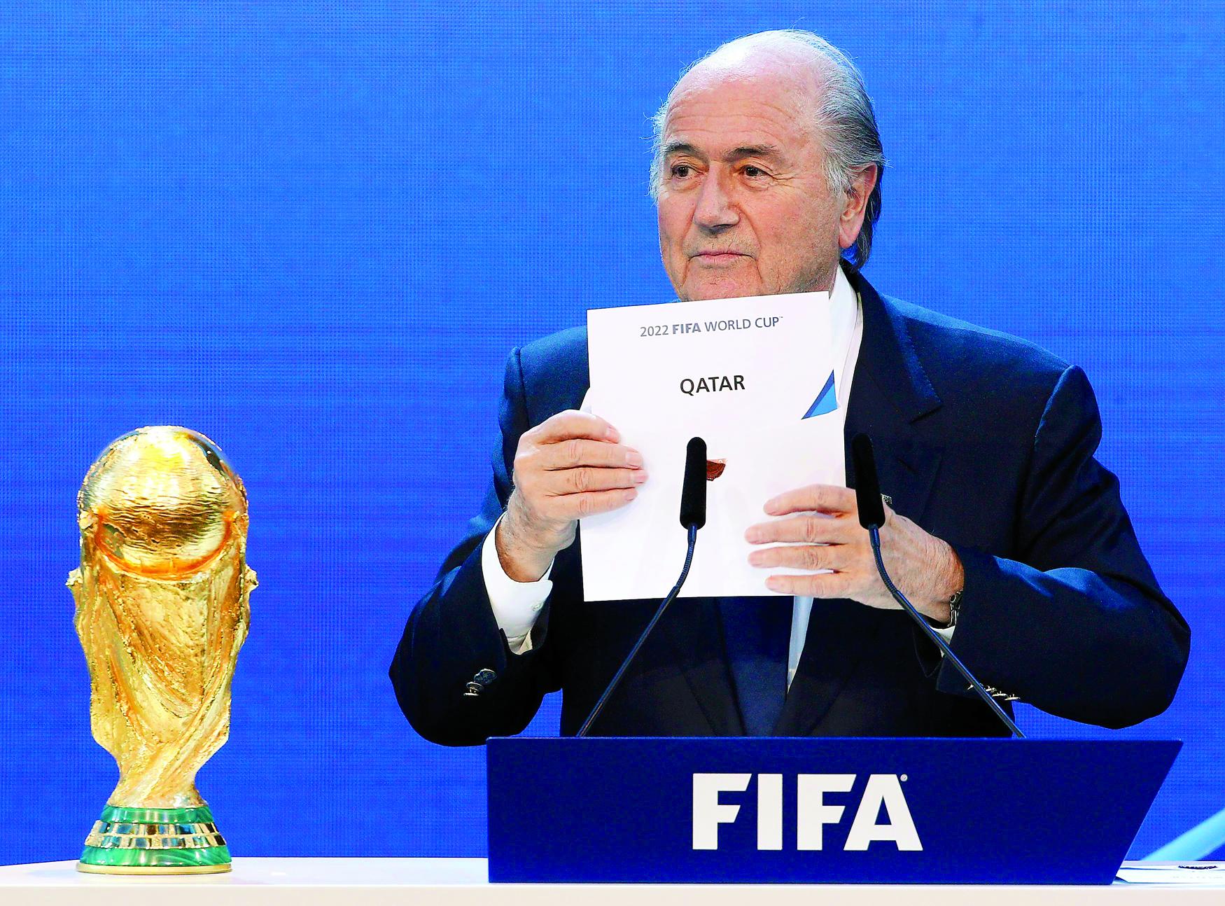 استضافة قطر لكأس العالم