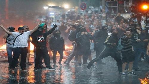 اشتباكات في إيطاليا