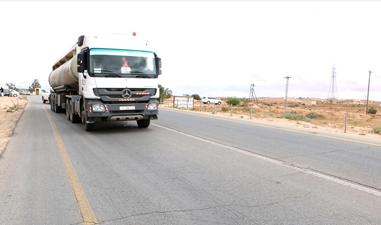 شاحنة وقود الزنتان