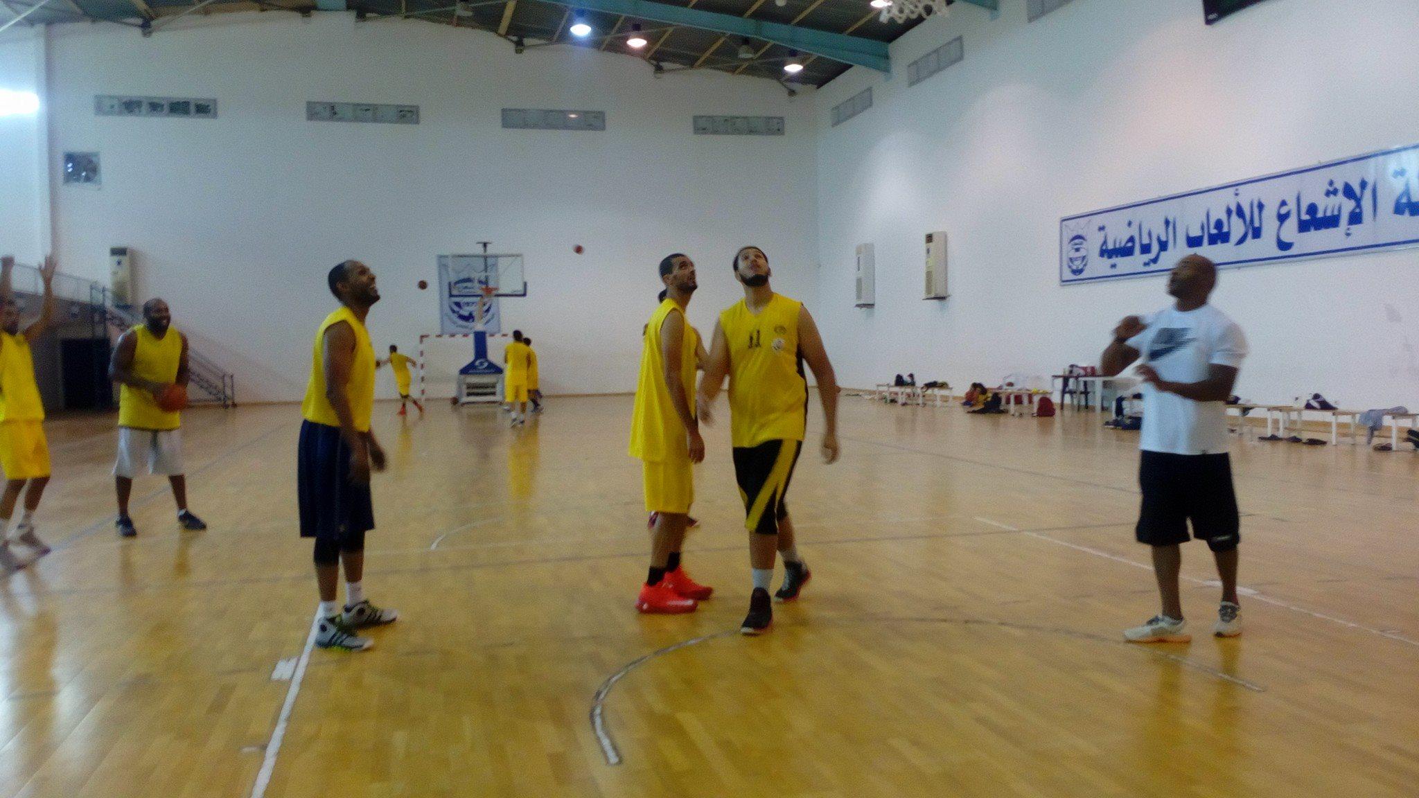 الشباب العربي يستعد لموسم كرة السلة