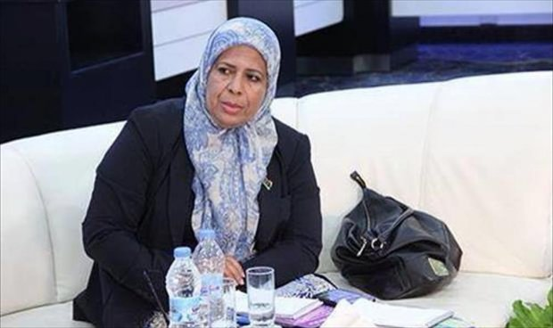 عضو مجلس النواب آمال بعيو