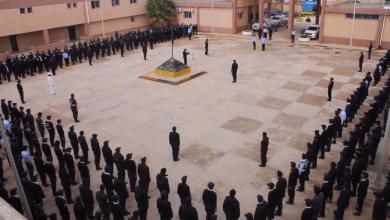 جمع عسكري لمنتسبي مديرية أمن المرج