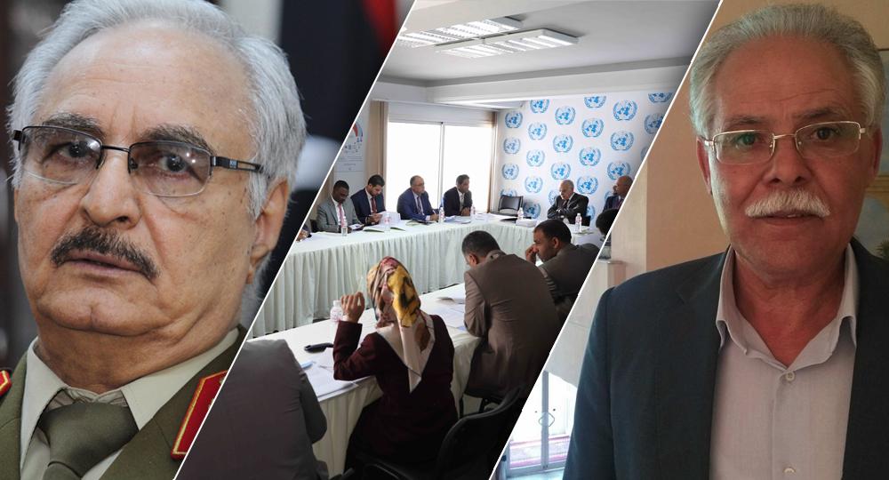 المهتم بالشأن العام الليبي جمعي القاسمي