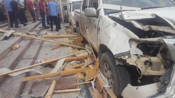 Photo of مصادر لـ218: الأمن يعمل على تفكيك سيارة مفخخة أمام مجمع محاكم مصراتة