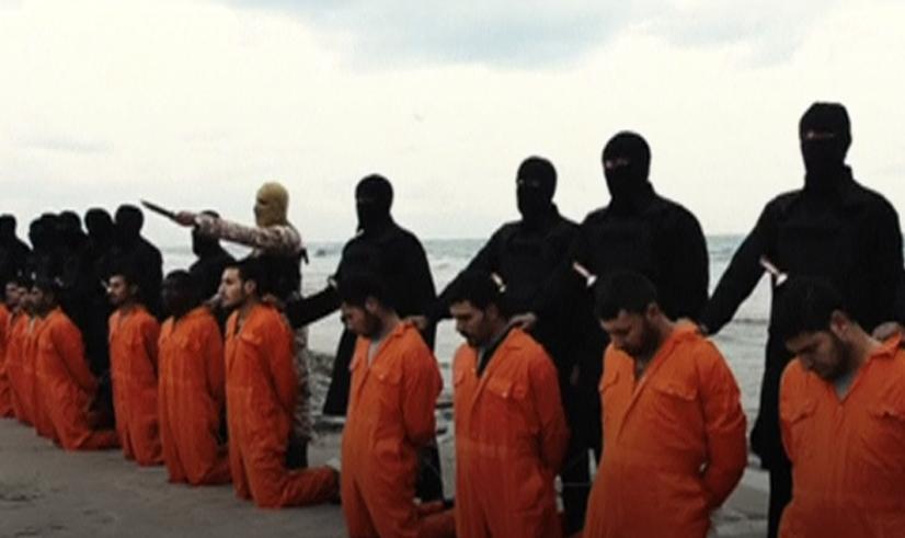 ذبح الأقباط داعش سرت