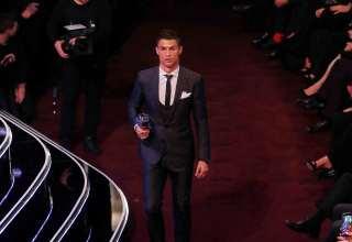 رونالدو يفوز بجائزة أفضل لاعب في العالم