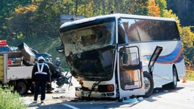 سقوط حافلة في نهر نيبال