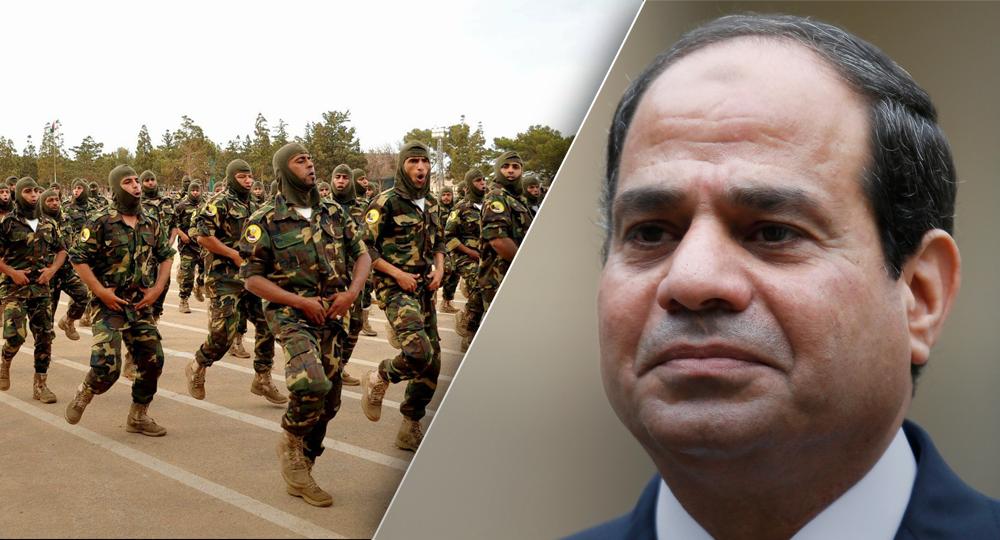 عبدالفتاح السيسي والجيش الوطني