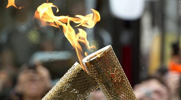 شعلة أولمبياد