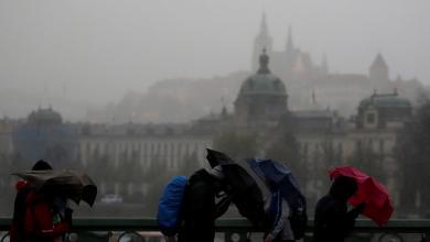 عواصف هوجاء تجتاح أوروبا