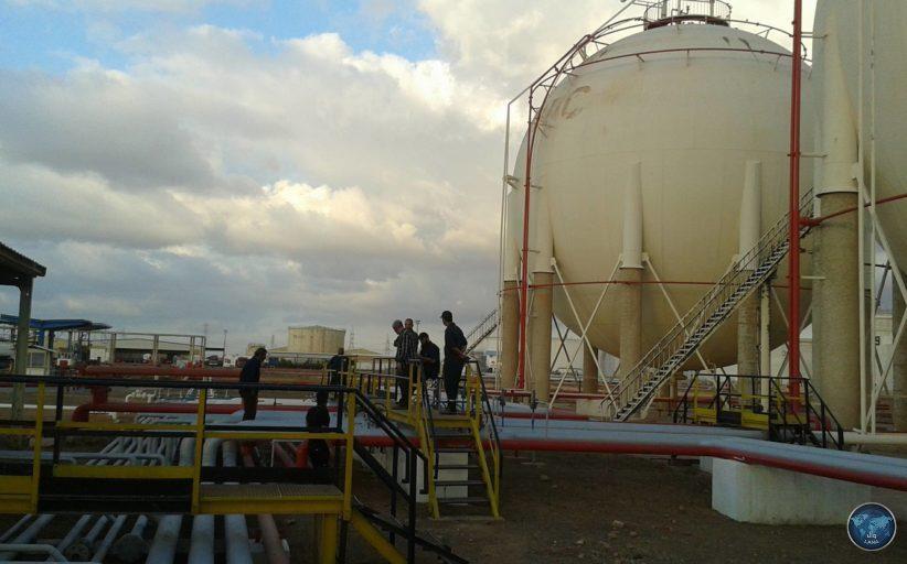 غاز الطّهي في ميناء بنغازي