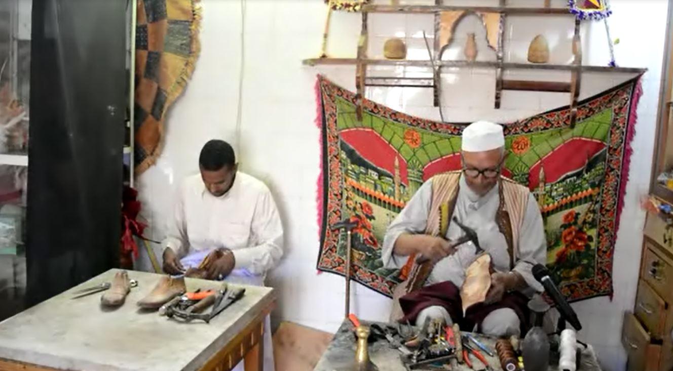 الحاج قاسم البخاري وابنه محمد