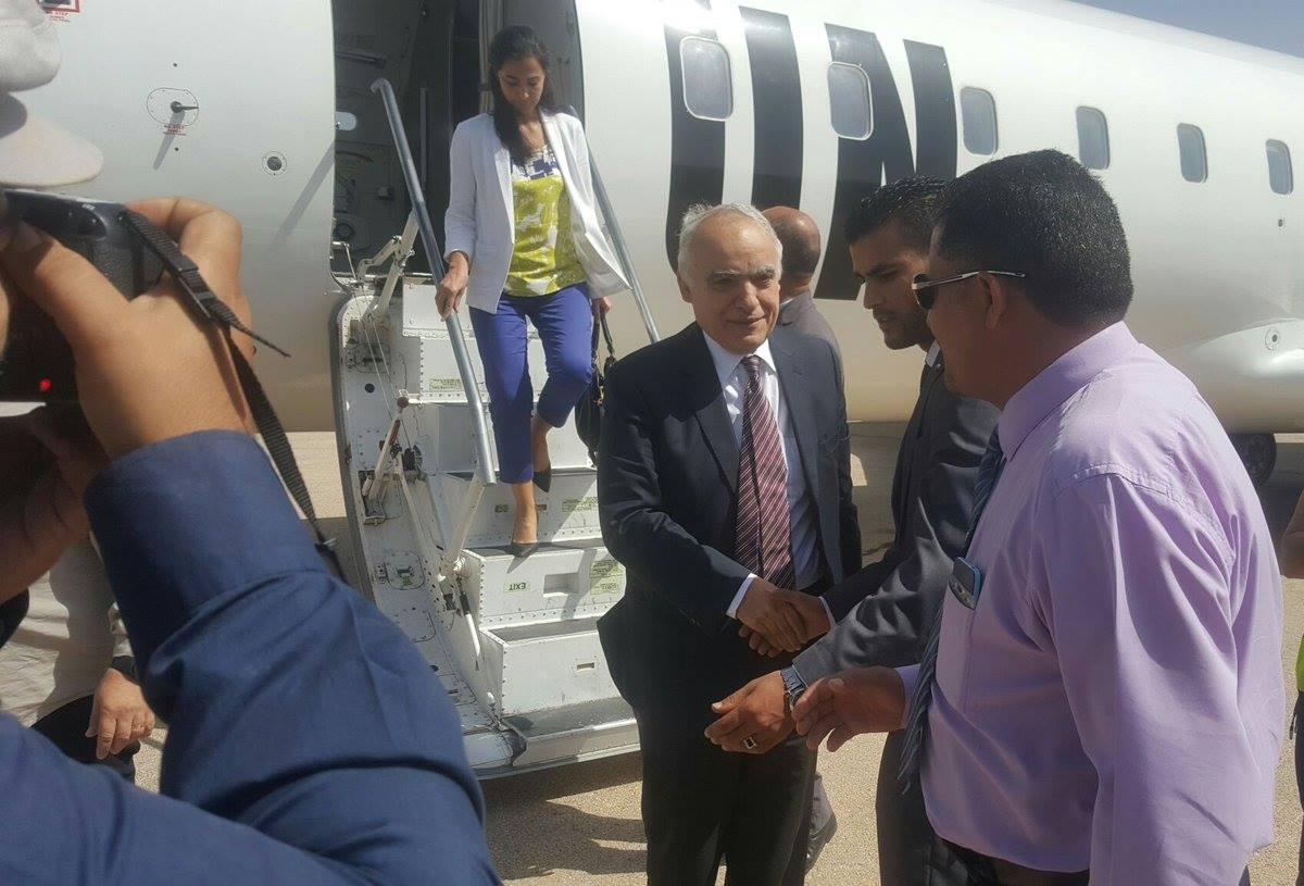 غسان سلامة يصل القبة ويلتقي رئيس مجلس النواب