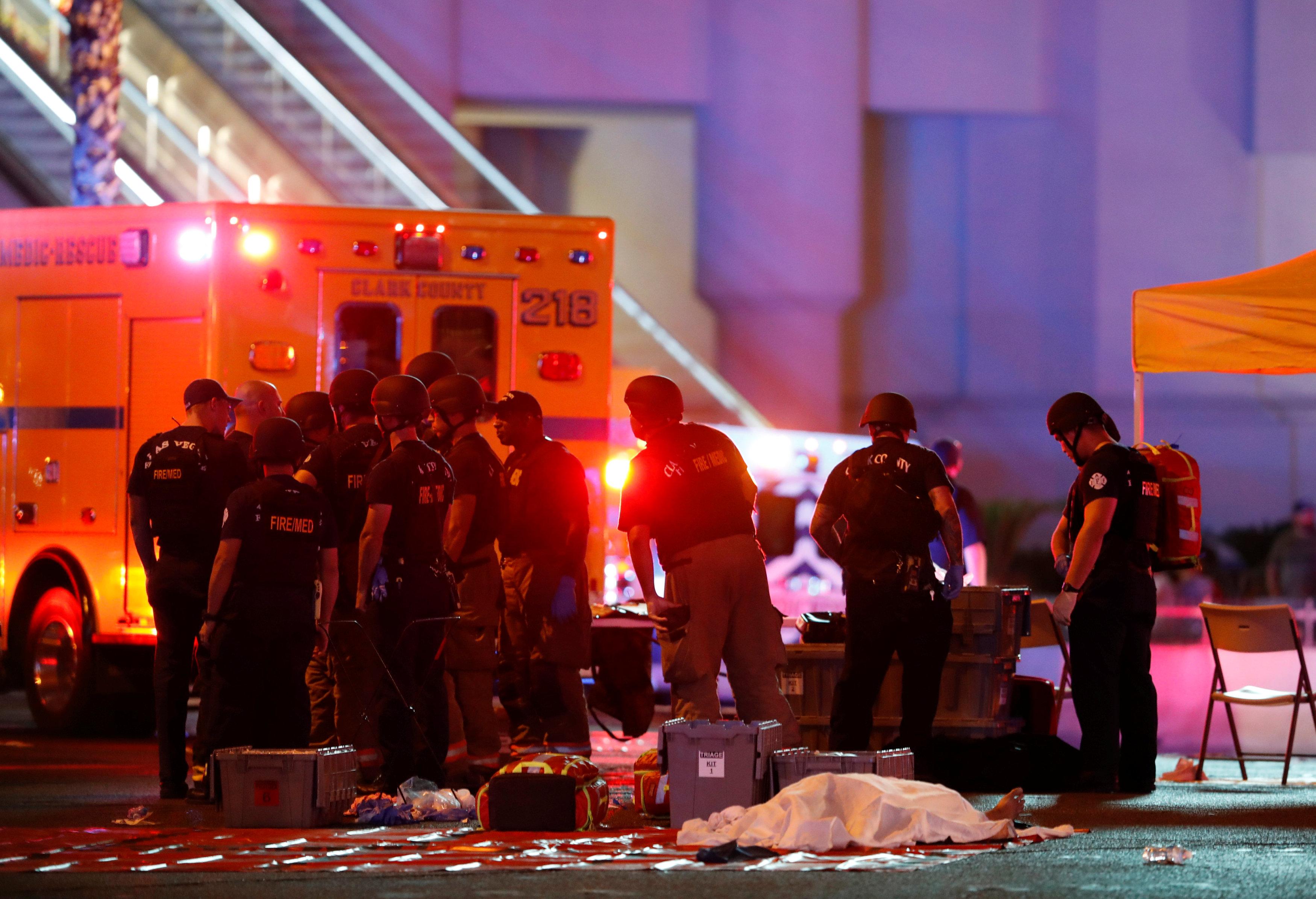 Photo of مسلحون يطلقون النار أثناء حفل موسيقى في لاس فيغاس وسقوط ضحايا