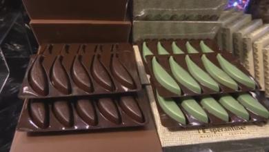 Photo of معرض للشوكولاتة يقيم عرضا للأزياء