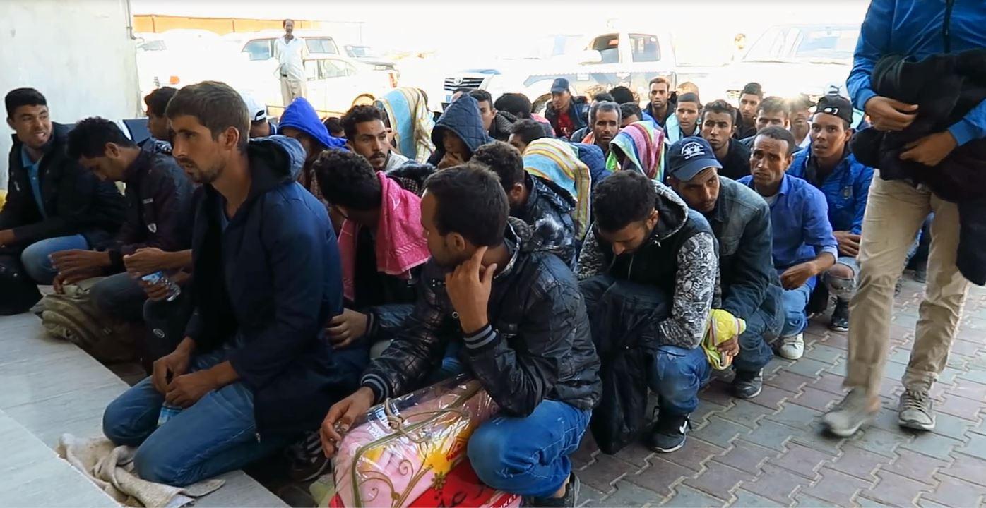 150 مهاجرا مغربيا