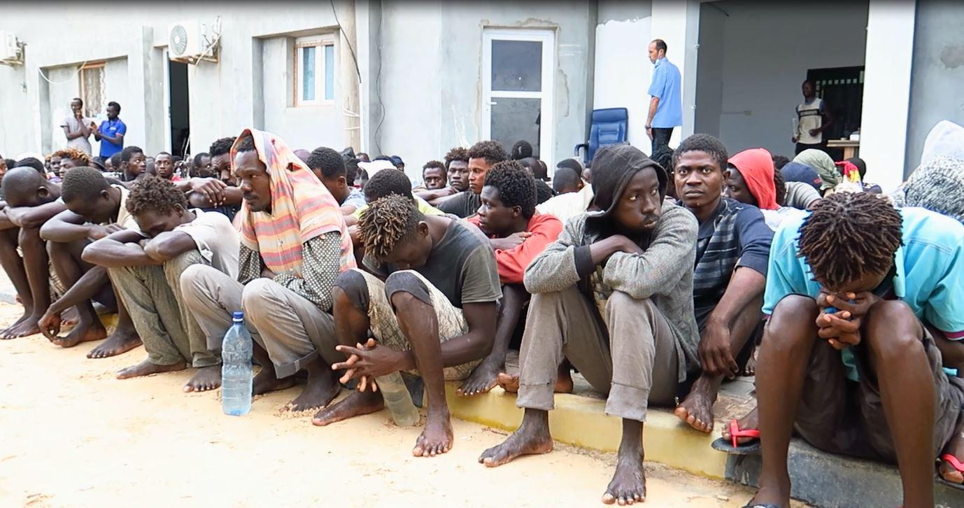 مركز إيواء المهاجرين غير القانونين