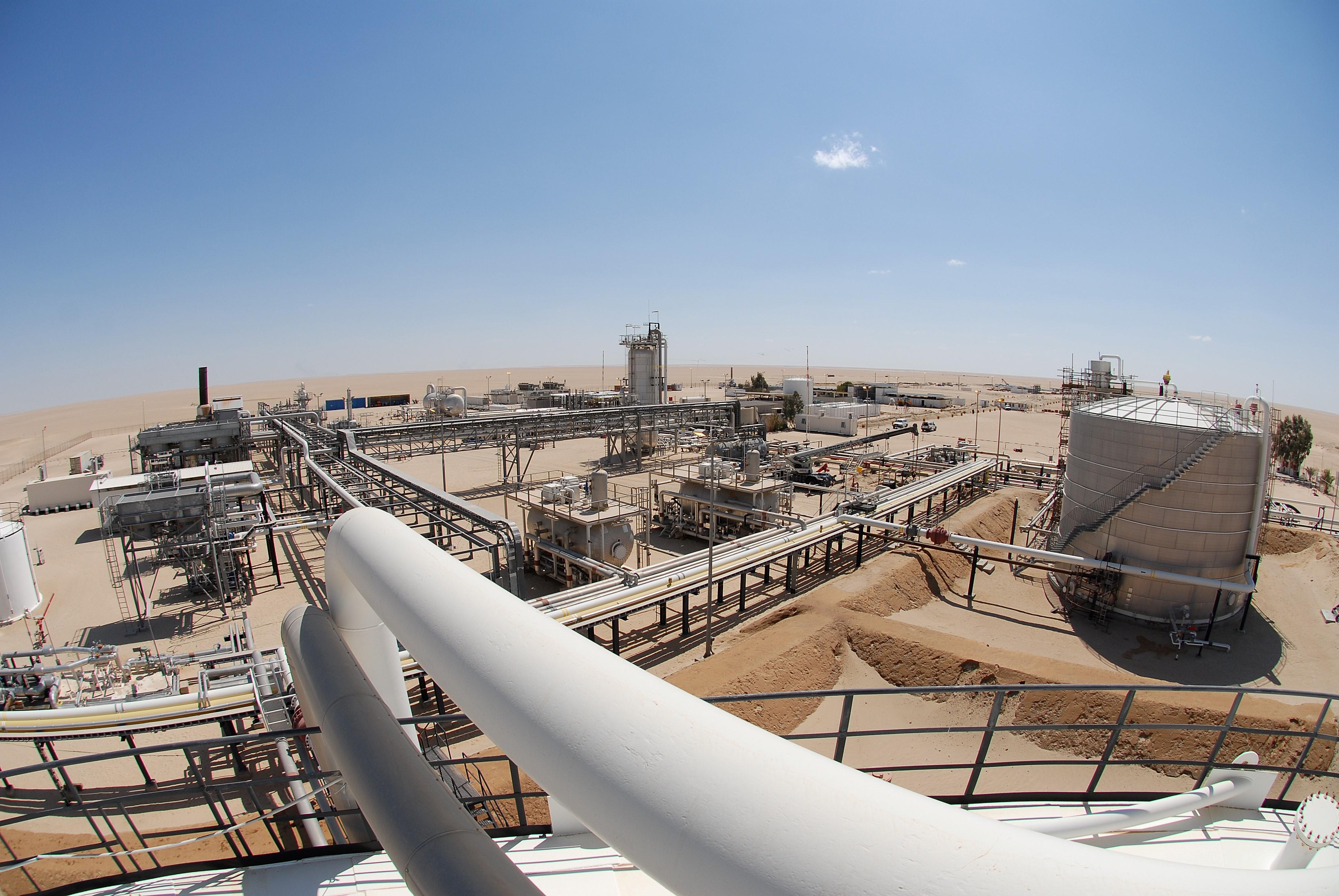 حقول ليبيا النفطية