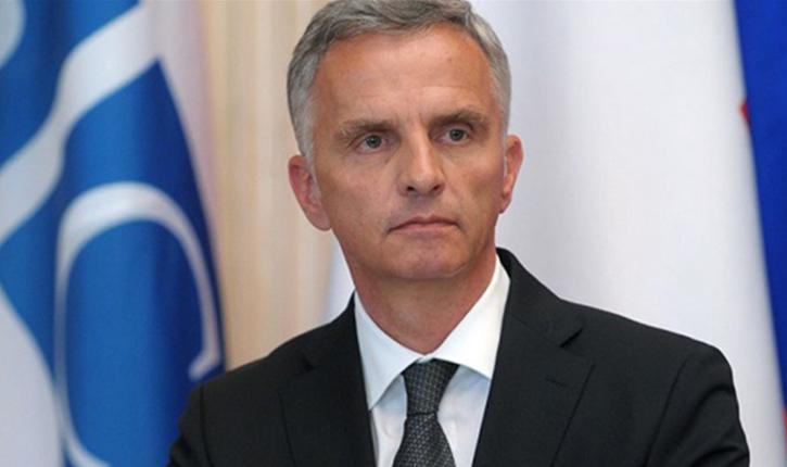 وزير الخارجية السويسري