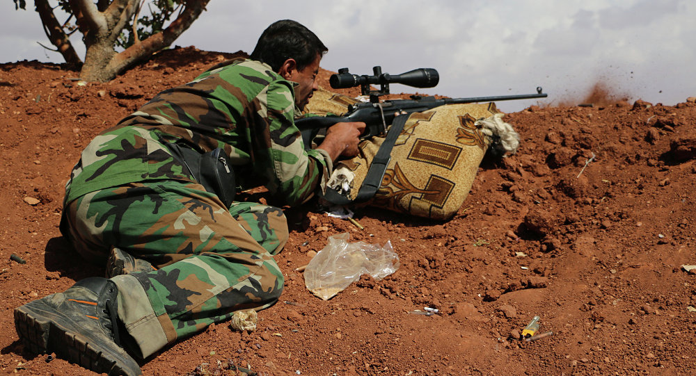 """صورة """"الجيش السوري"""" يطوّق """"داعش"""" في """"الميادين"""" شرق """"سوريا"""