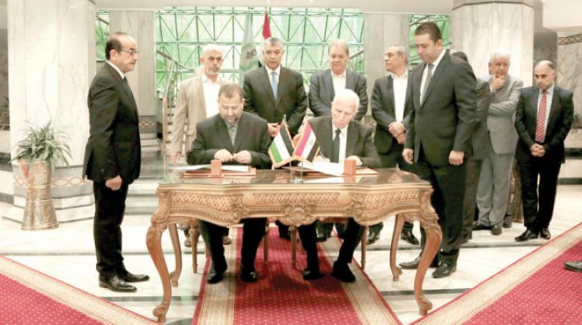 """Photo of """"غزّة"""" تحتفل باتفاق القاهرة و""""حكومة الوفاق الوطني"""""""