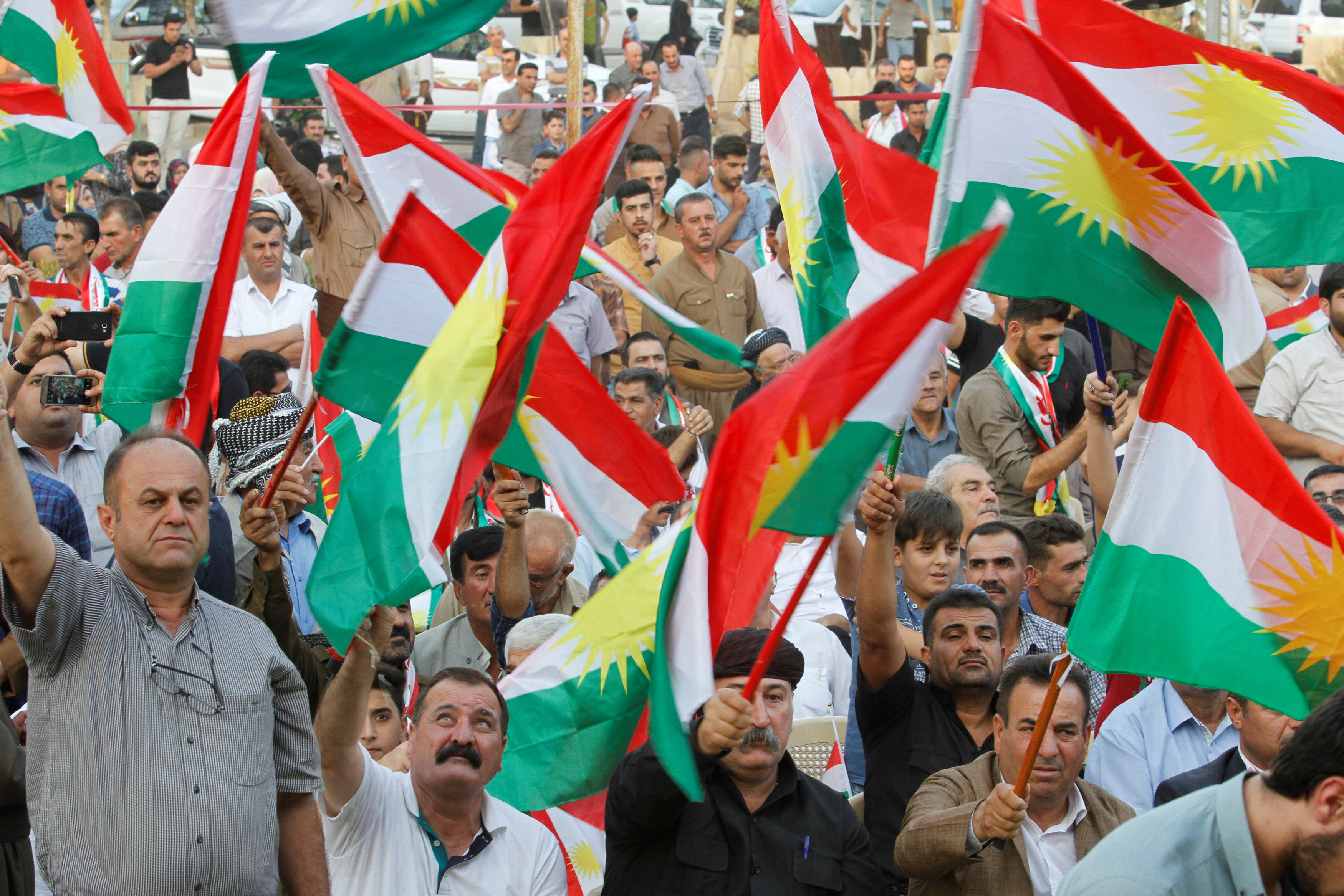 25 سبتمبر أيلول استقلال الإقليم عن بغداد