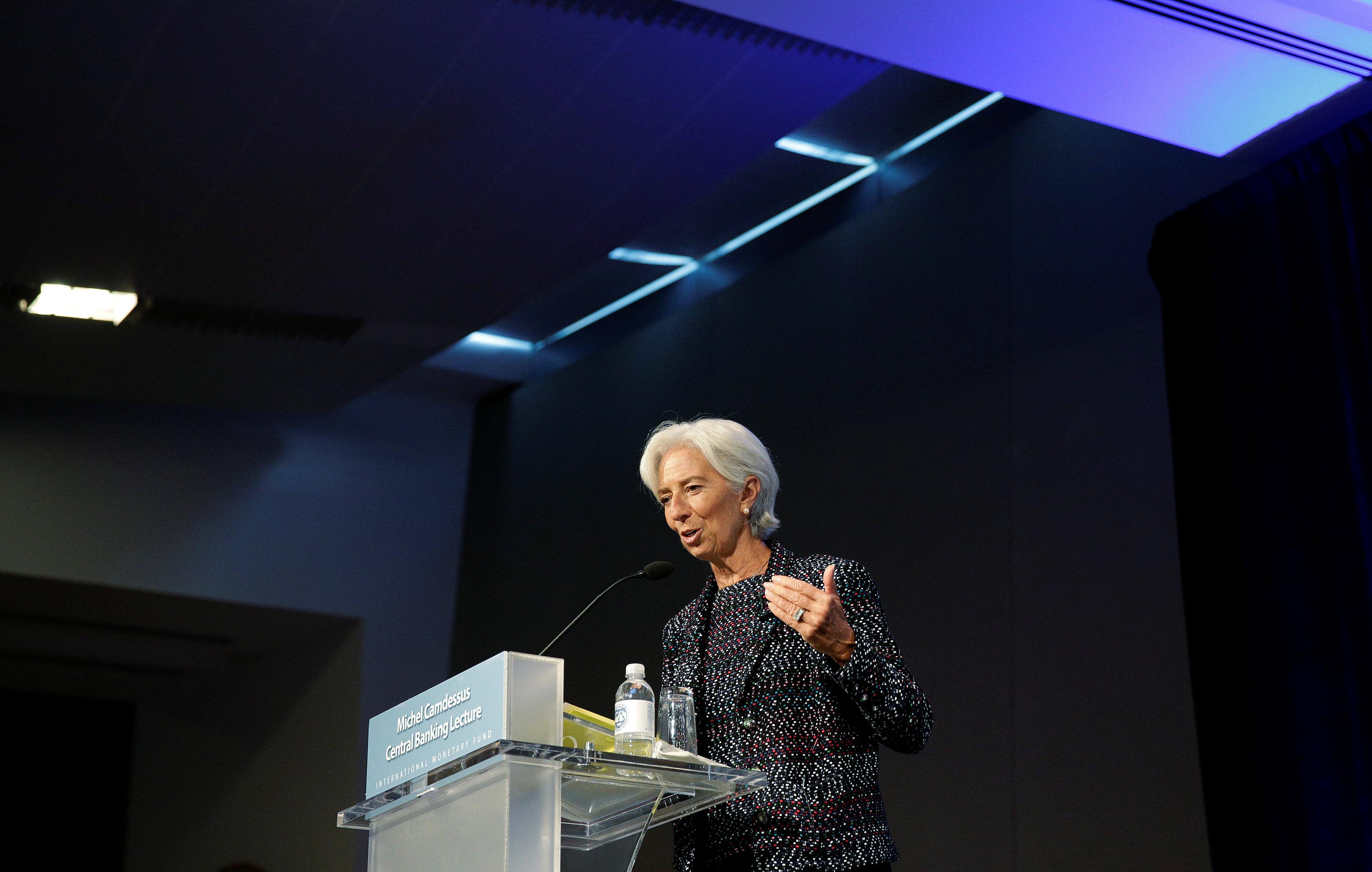 كريستين لجار المديرة العامة لصندوق النقد الدولي