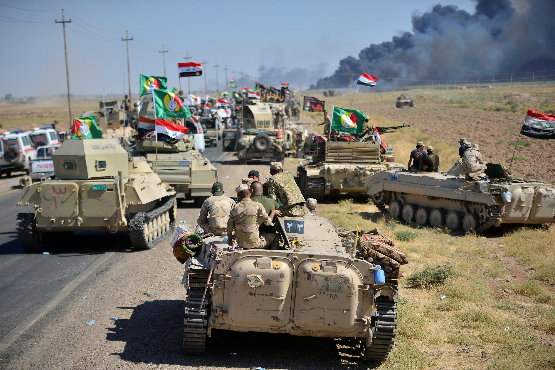 القوات العراقية في الحويجة