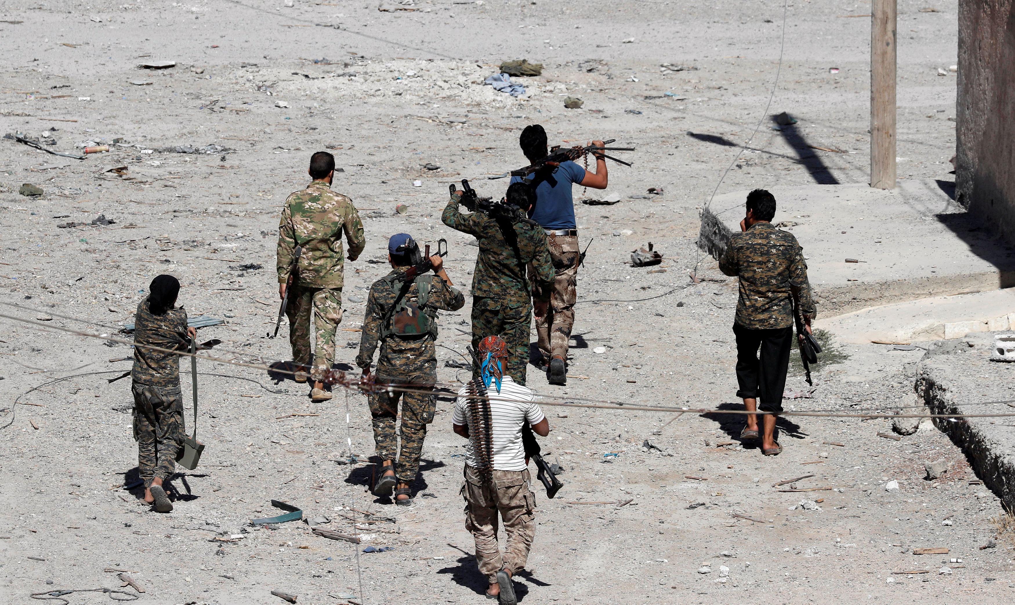صورة الجيش السوري يقترب من الميادين معقل تنظيم داعش