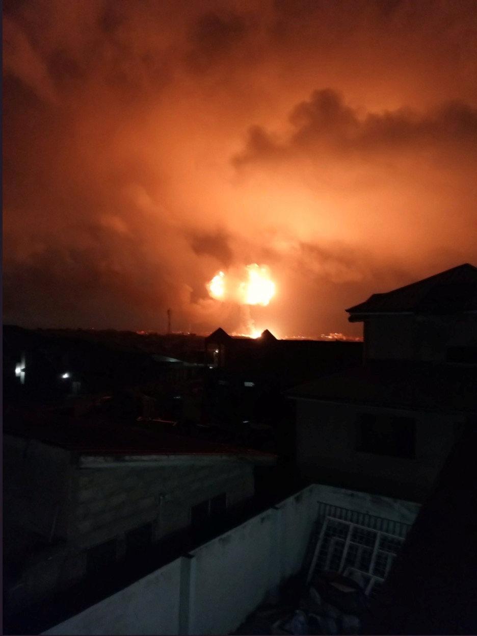 انفجار بموقع لتوزيع الوقود في غانا