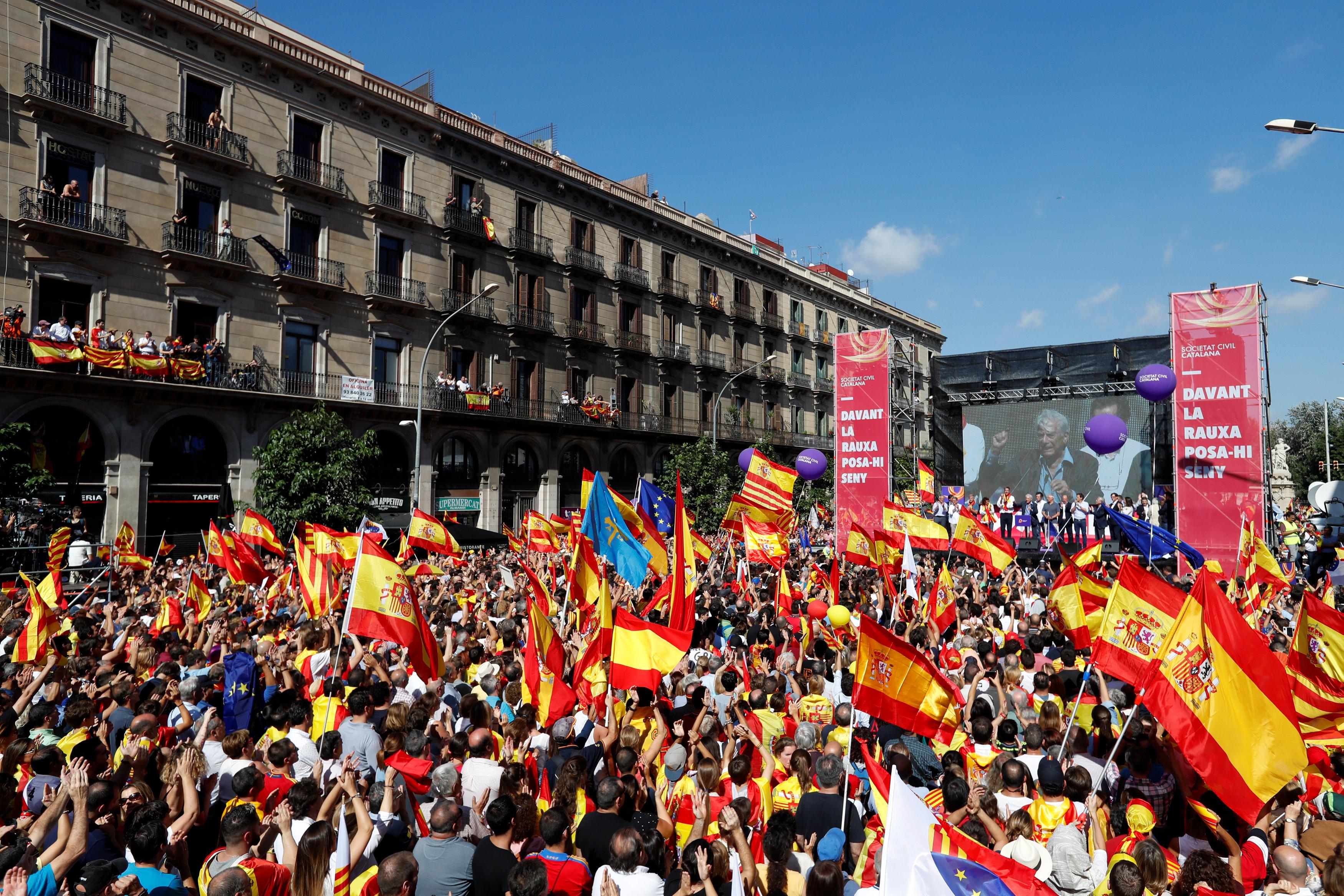 صورة المحكمة الدستورية في إسبانيا تلغي إعلان استقلال كتالونيا