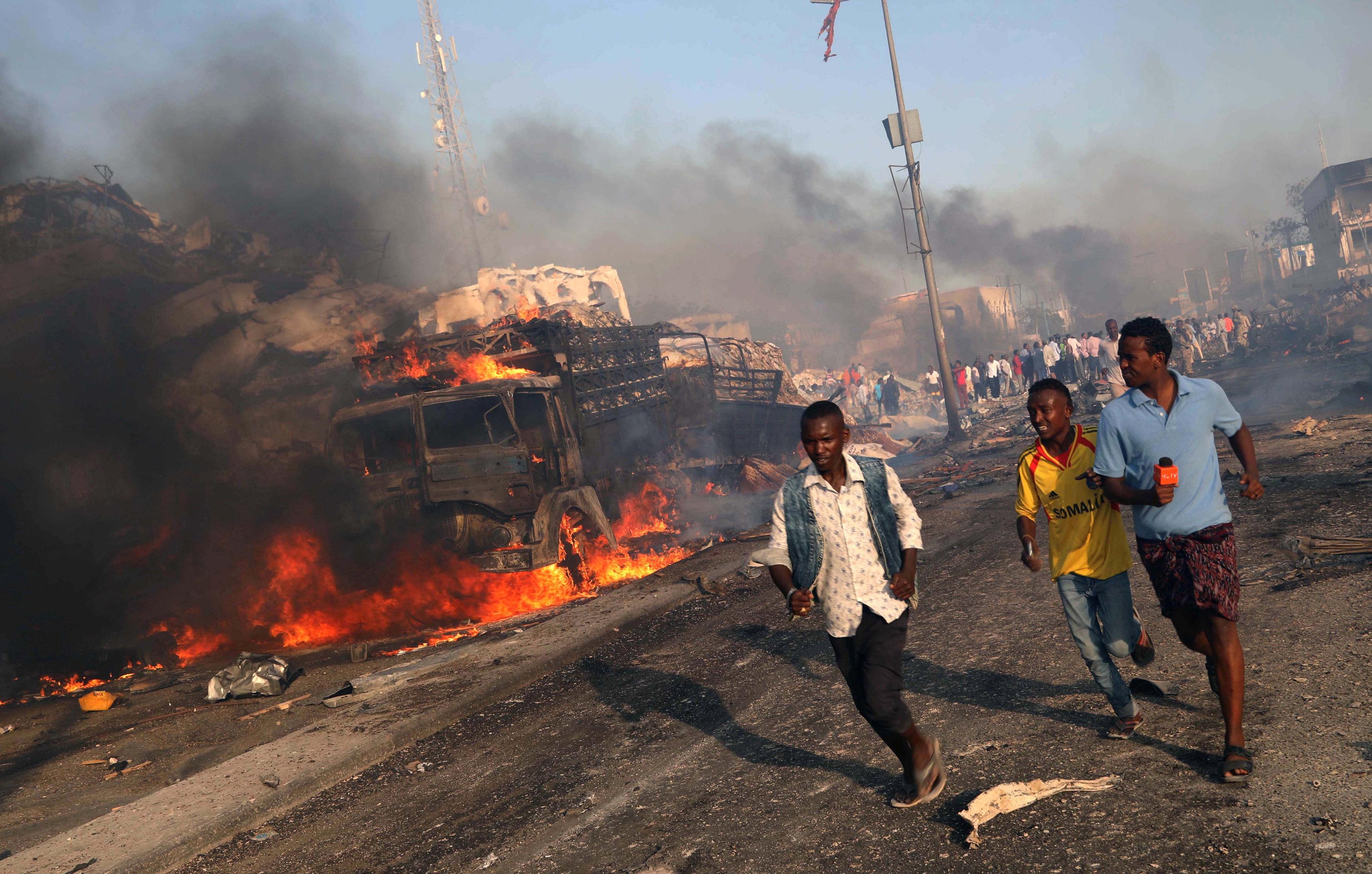 هجومي الصومال