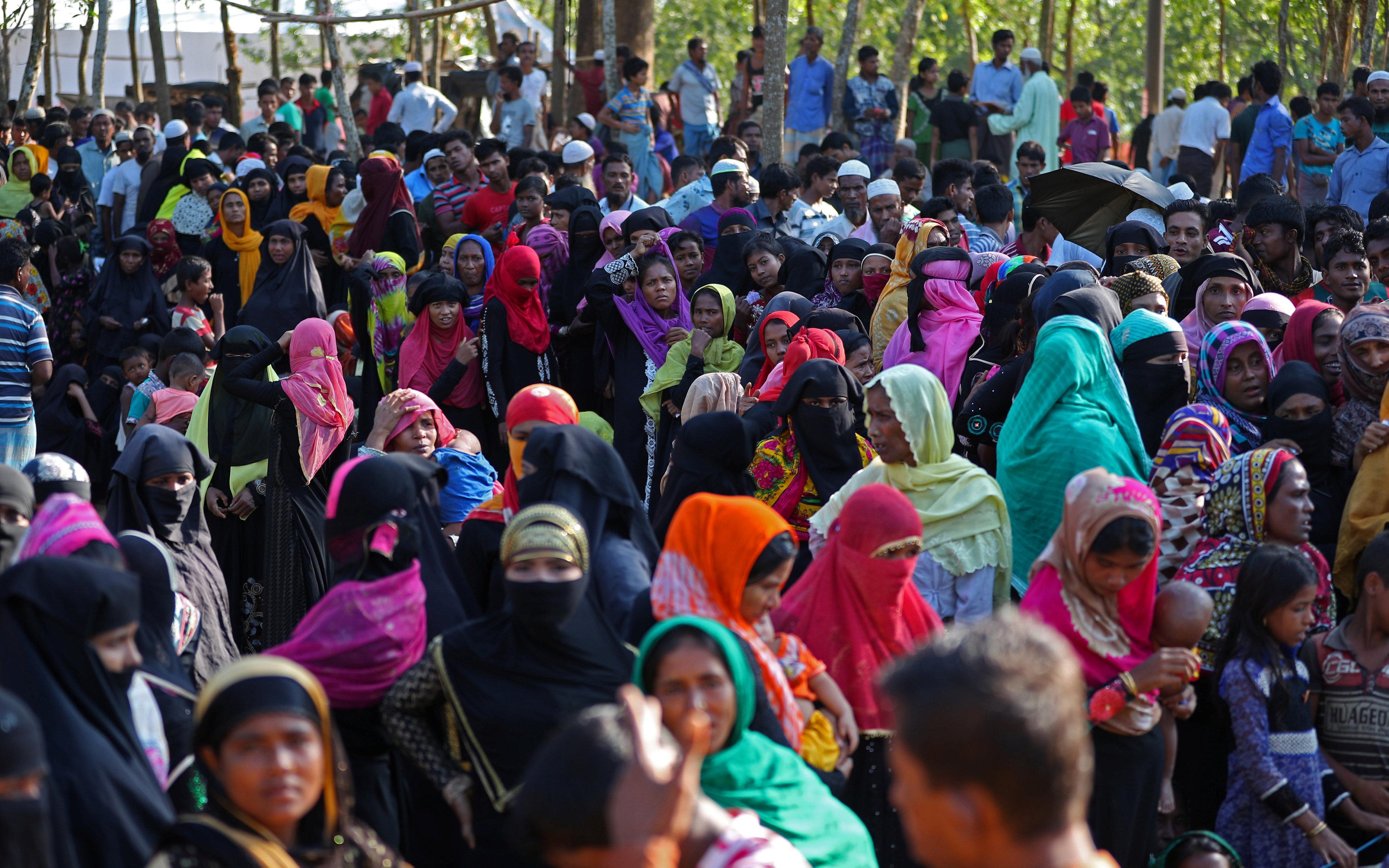 "Photo of ""بنغلاديش"": لا يمكن استمرار تدفق ""الروهينغا"" إلى البلاد"