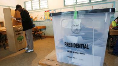 الإعادة في انتخابات كينيا