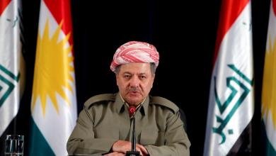 رئيس إقليم كردستان مسعود برزاني