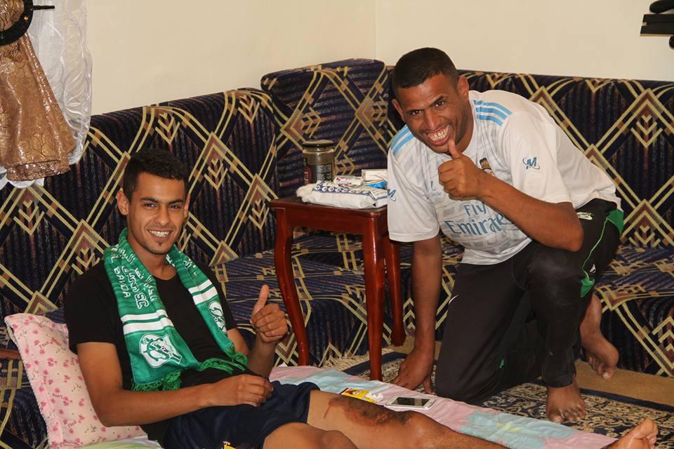 Photo of رابطة مشجعي الأخضر تزور ابنها