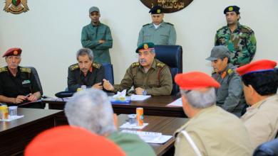 Photo of اجتماع عسكري عالٍ لرفع كفاءة الشرطة العسكرية