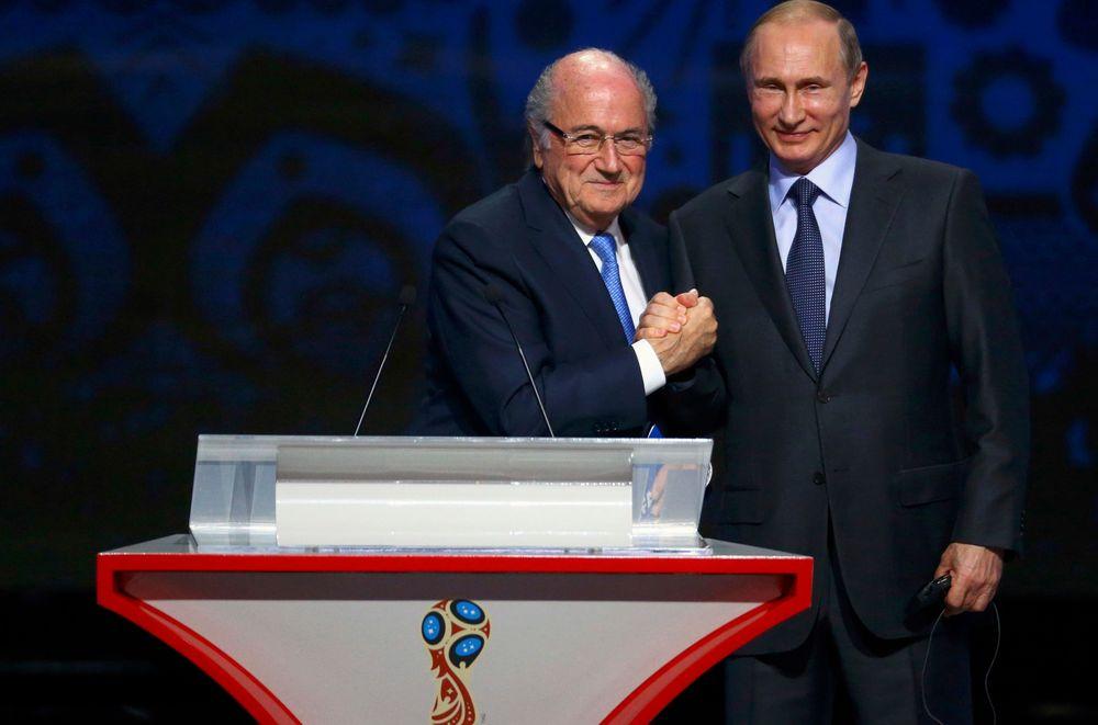 بوتين وبلاتر