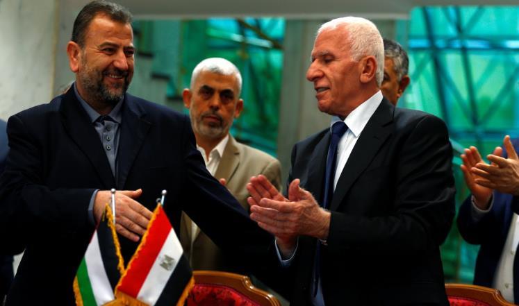 """صورة """"بنود سرّية"""" تهدد اتفاق المصالحة الفلسطينية"""