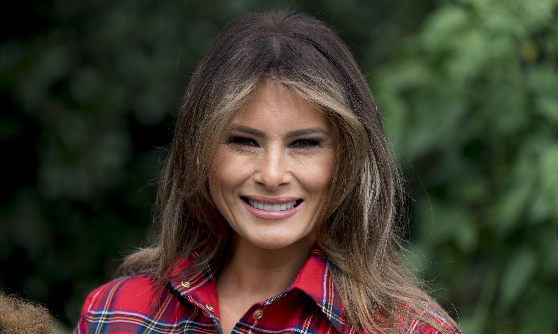 ميلانيا زوجة الرئيس الأمريكي دونالد ترامب
