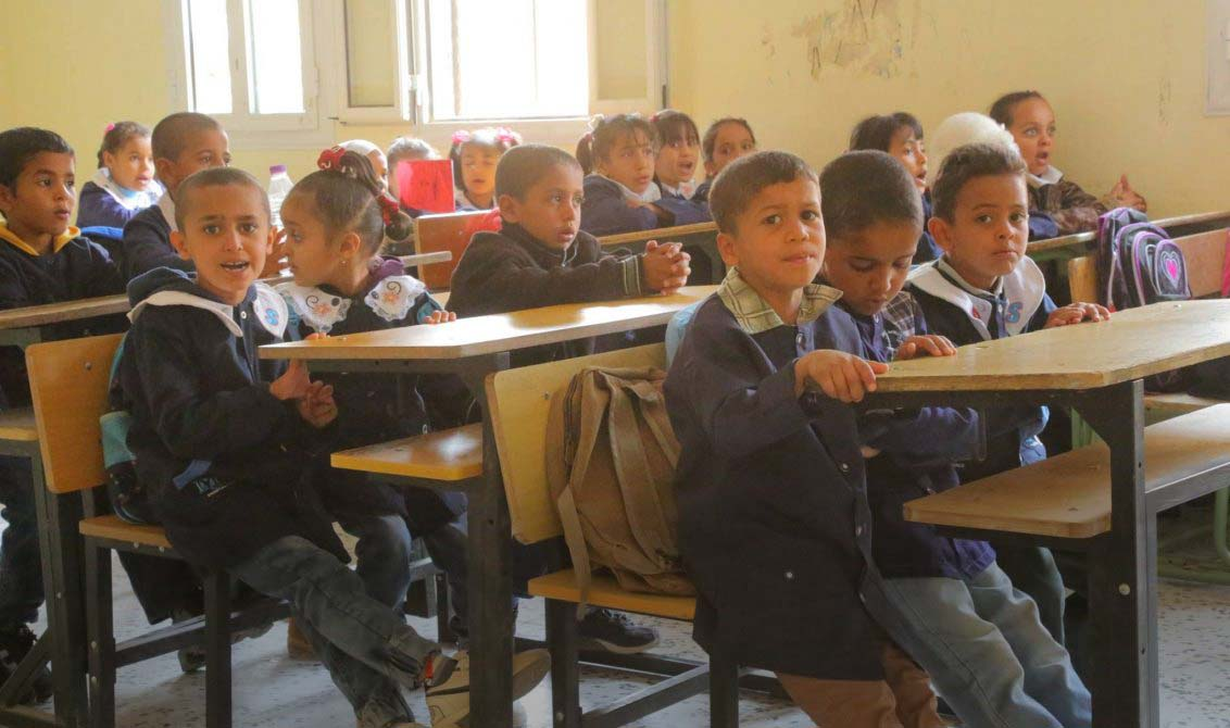 """صورة """"العنف المدرسي"""".. وجه آخر للمعاناة في ليبيا"""