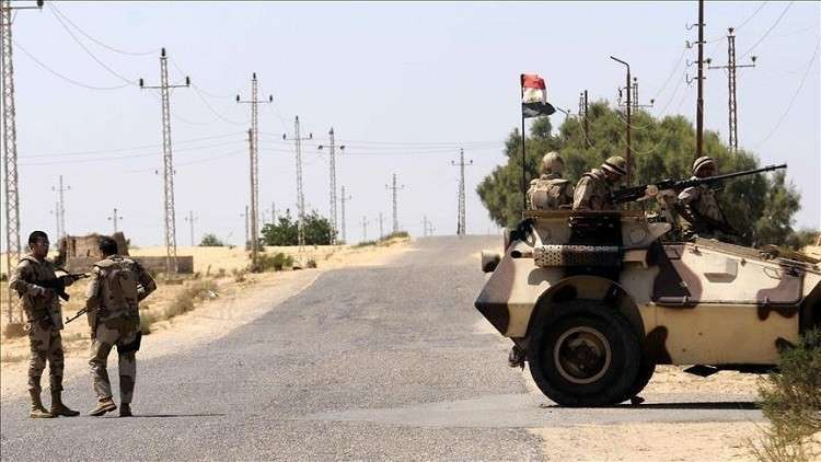 """صورة مقتل """"6"""" في هجوم إرهابي في """"العريش"""" المصرية"""