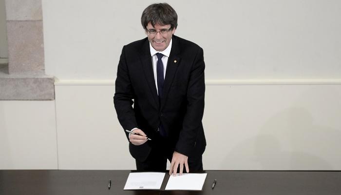 """صورة زعيم كتالونيا: """"برلمان"""" الإقليم قد يصوّت على """"الاستقلال"""""""