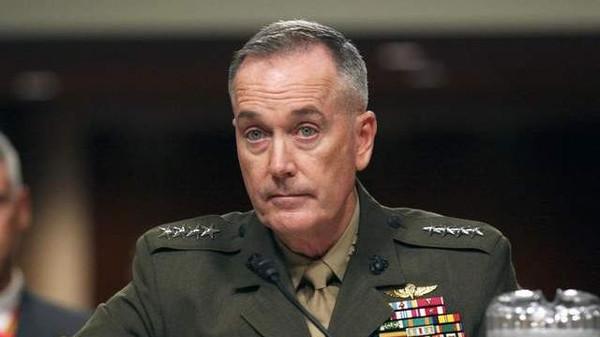 رئيس هيئة الأركان الأمريكية المشتركة الجنرال جوزيف دنفورد